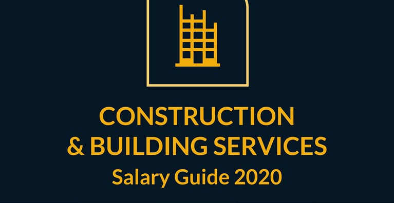 2020 Construction, Building Services, CDM, H&S Salary Guides